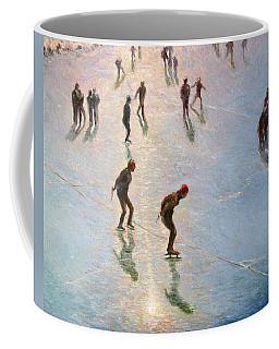 Skating In The Sunset  Coffee Mug by Pierre Van Dijk