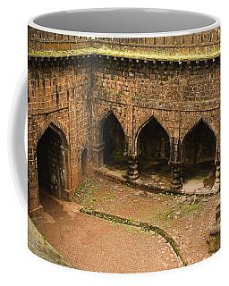 Skc 3278 The Ancient Courtyard Coffee Mug by Sunil Kapadia