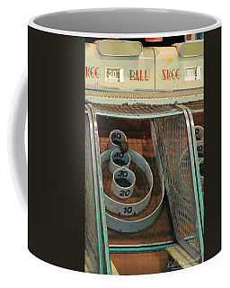Skee Ball At Marty's Playland Coffee Mug