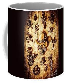 Coffee Mug featuring the photograph Skeleton Pendant Party by Jorgo Photography - Wall Art Gallery