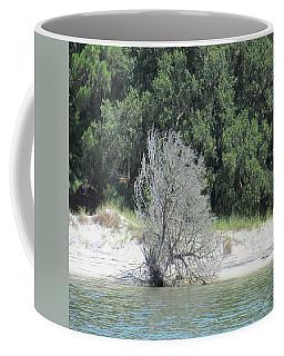 Skeleton Tree On The Beach Coffee Mug