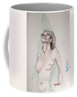 Sketch For Megan Iv Coffee Mug by Ray Agius