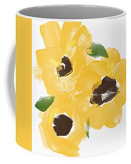 Sketchbook Sunflowers- Art By Linda Woods Coffee Mug