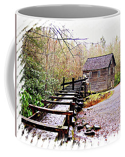 Coffee Mug featuring the photograph Sketchy Mingus Mill 2 by Marty Koch