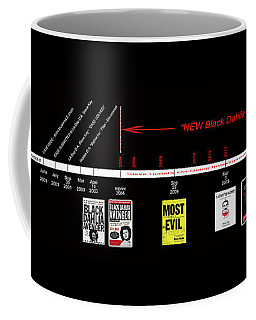 Skh Black Dahlia Inv. Time Line Coffee Mug