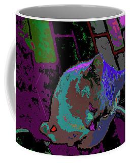 Skid Row Kitten Coffee Mug
