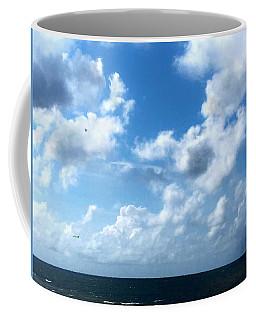 Skies Over The Gulf Coffee Mug by Daniel Eskridge