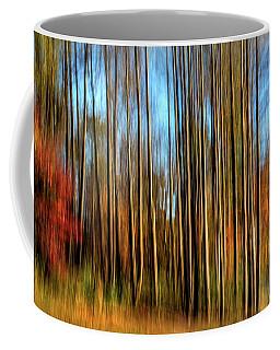 Skinny Forest Swipe Coffee Mug