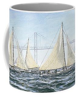 Skipjacks Racing Chesapeake Bay Maryland Detail Coffee Mug