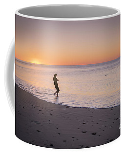 Coffee Mug featuring the photograph Skipping Stones by Ray Warren