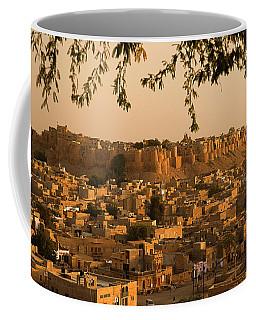 Skn 1334 Golden City Coffee Mug