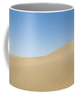 Skn 1412 The Ripples On The Slope Coffee Mug by Sunil Kapadia