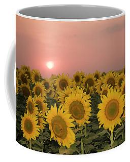 Skn 2179 Sunflower Landscape Coffee Mug