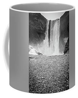 Skogafoss In Winter Coffee Mug