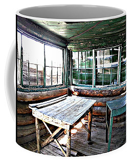 Skookum Butte Lookout Cabin  Coffee Mug
