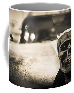 Skull Car Coffee Mug