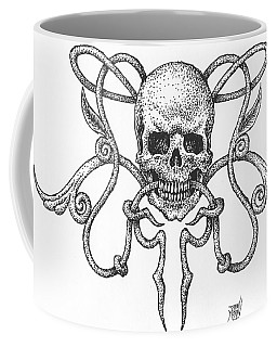 Skull Design Coffee Mug