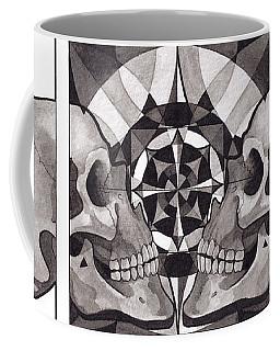 Skull Mandala Series Nr 1 Coffee Mug