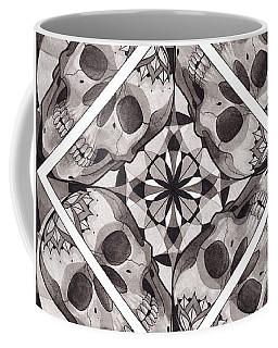 Skull Mandala Series Number Two Coffee Mug