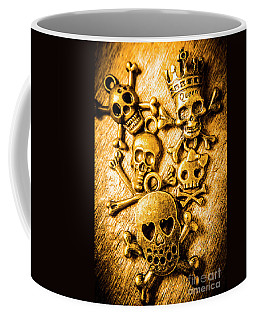 Coffee Mug featuring the photograph Skulls And Crossbones by Jorgo Photography - Wall Art Gallery