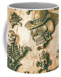 Skulls And Pieces Coffee Mug