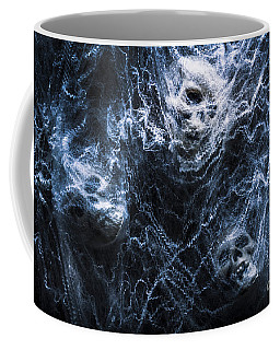 Skulls Tangled In Fear Coffee Mug by Jorgo Photography - Wall Art Gallery