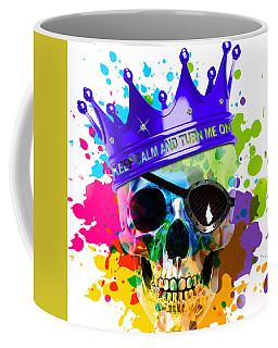 Skully White Coffee Mug