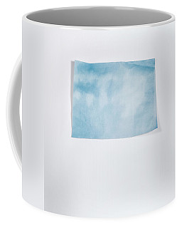 Sky Blue On White Coffee Mug