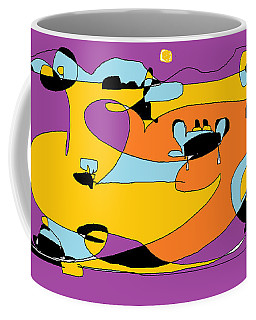 Sky Buckets Coffee Mug by Nancy Kane Chapman