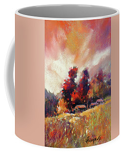 Sky Fall Coffee Mug by Rae Andrews