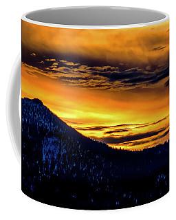 Sky Fire Coffee Mug by Mitch Shindelbower