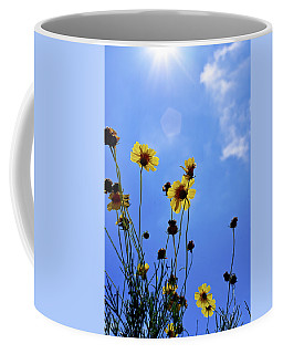 Sky Flowers Coffee Mug