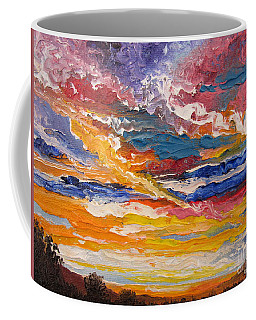 Sky In The Morning.             Sailor Take Warning  Coffee Mug