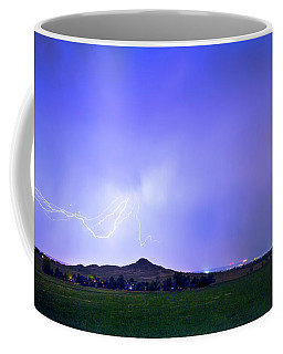 Coffee Mug featuring the photograph Sky Monster Above Haystack Mountain by James BO Insogna