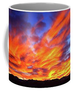 Sky On Fire #5 Coffee Mug