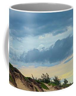 Sky Over Maceneta Beach Mozambique Coffee Mug