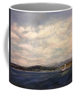 The Port Of Everett From Howarth Park Coffee Mug