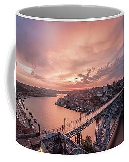 Coffee Mug featuring the photograph Sky Pierce by Bruno Rosa