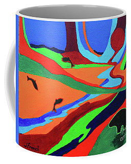 Sky Rivers Coffee Mug