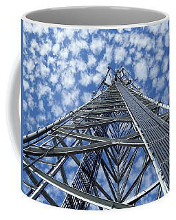 Coffee Mug featuring the photograph Sky Tower by Robert Geary