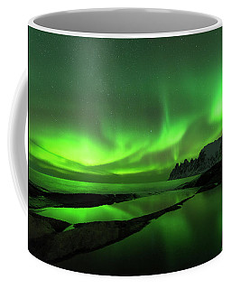 Coffee Mug featuring the photograph Skydance by Alex Lapidus