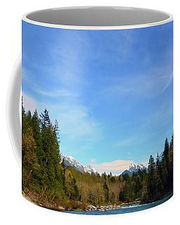 Skykomish River And Persis Coffee Mug