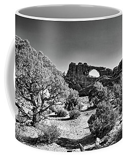 Skyline Arch In Arches National Park Coffee Mug