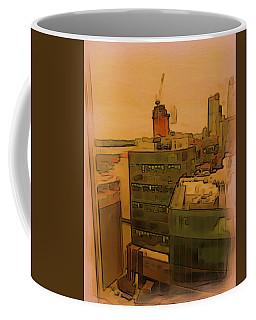 Skyline Crain Coffee Mug