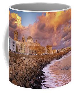 Skyline From Campo Del Sur Cadiz Spain Coffee Mug