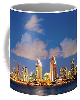 Coffee Mug featuring the photograph Skyline In The Wind by Howard Bagley