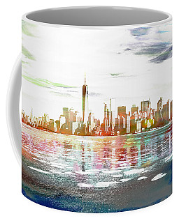 Skyline Of New York City, United States Coffee Mug