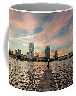 Skyline Sunset Coffee Mug