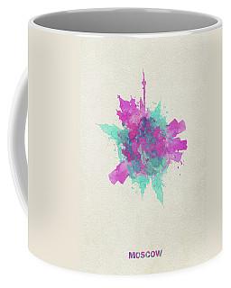 Skyround Art Of Moscow, Russia Coffee Mug