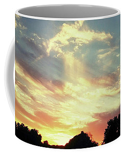 Coffee Mug featuring the photograph Skyscape by Melinda Blackman